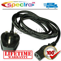 Sony Bravia TV Television Ac Power Supply Cable/Cord/Lead with UK Mains Plug for