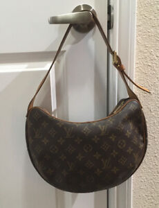 luis vuitton croissant medium size Authentic