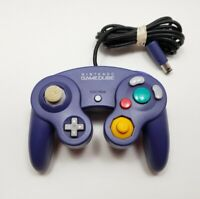 Nintendo Gamecube Controller OEM Genuine Original Purple Indigo DOL-003 Tested!