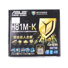 ASUS H81M-K LGA 1150 Intel H81 USB3.0 DVI VGA DDR3 mATX Motherboard