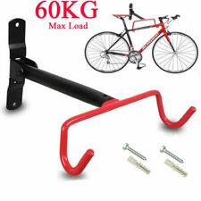 Bike Wall Mounted Bicycle Hanger Cycle Storage Mount Hook Holder Stand Rack 60KG