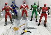 """Lot Of 5 - Mighty Morphin Power Rangers 5.5"""" Action Figures"""