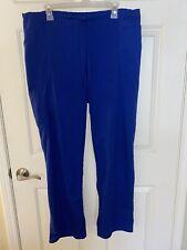 Scrubstar Royal Blue Scrub Pants Size Xl