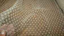 50cm x 135cm wide - Gold Geometric Lace Fabric, Sewing Material