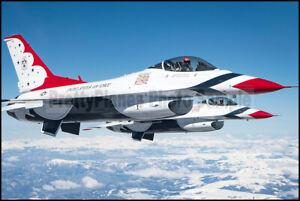 USAF F-16 Thunderbirds Refuel Over Colorado 2019 8x12 Photos