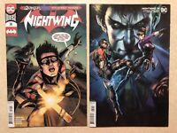 NIGHTWING # 74 Lot (2020) — Covers A & B Variant JOKER WAR — NM
