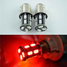 2pcs Strobe Flashing Red 1157 BAY15D 5630 Turn LED Bulbs Car Tail Brake Lights