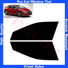 Pre Cut Window Tint Honda Civic 5 Doors Hatchback 2012-... Front Sides Any Shade