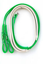 PVC Riding Reins - Lime Green