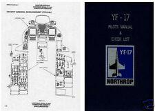 Northrop YF-17 YF-23 Advance Experimental Rare historic archive manual X plane