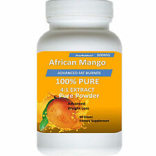 African Mango Super Extract Burn Weight Diet Loss Irvingia Gabonensis Cleanse