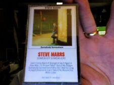 Steve Marrs- Somebody Somewhere- new/sealed cassette tape