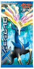 5x Japanese Pokemon X packs Booster Pack 1ST EDITION SEALED IN HAND!!
