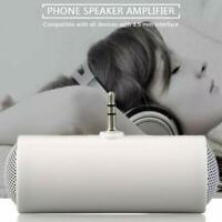 Mini 3,5 mm Stereo-Lautsprecher Musik-Tonverstärker für Handy-Tablet K5Q5
