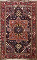 Vintage Geometric Traditional Area Rug Dining Room Hand-knotted Oriental 8x10