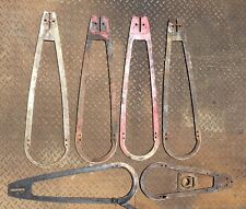 Vintage Lot of Bow Saw Bars, Mixed Lengths HOMELITE bar