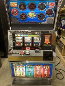Bally 6000 Wild Times 3 Coin SLOT MACHINE