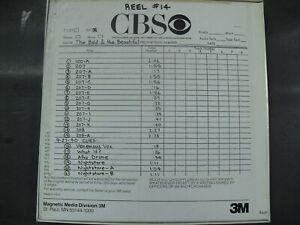 David Kurtz Jack Allocco Music TV CBS  Bold And The Beautiful Reel Tape Master