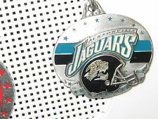 METAL KEYCHAIN KEY RING  NFL JACKSONVILLE JAGUARS KEY RING  1 1/2   KEY CHAIN
