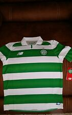 celtic football club FC new balance soccer jersey NWT size L youth