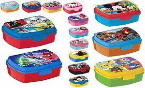 LUNCH BOX scatola colazione porta PRANZO MERENDA sandwich scuola,asilo bambino