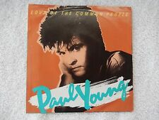 """Paul Young """"Love Of The Common People/Behind Your Smile"""" PS 45 RPM Record"""