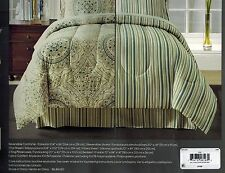 Fairfield Square Collection Aidan 8-Piece Cal King Comforter Set MSRP $100