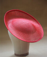 "11.8"" Circle Saucer Vintage Inspired Percher Hat Fascinator Millinery Base B056"