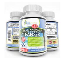 Clear Colon Cleanse Blend Mild Laxative Fiber Rich Herbs Detox Cleansing Formula