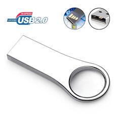 USB 2.0 32GB 16GB Mini Metal Flash Drive Stick Storage U Disk High Speed