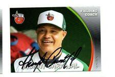 Jhonny Carvajal signed autographed 2019 Fort Wayne Tincaps baseball card b