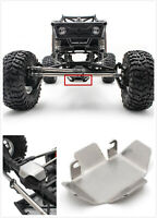 Stainless Steel Axle Guard Protective Plate for Axial 1/10 RC Crawler Car