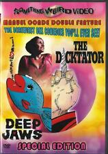 Deep Jaws The Dicktator Something Weird Video Sex Comedy Rare OOP DVD Perry Dell