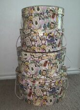 Vintage Retro Tri Costal Lilac Nesting Boxes