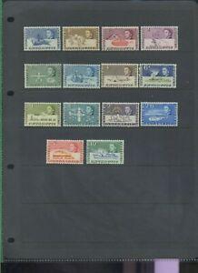 British Antarctic Territory BAT 1963 set to 10s MNH