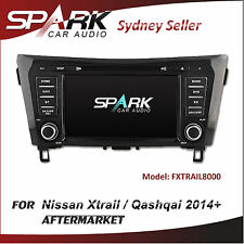 8' CT CARPLAYER / ANDROID AUTO GPS DVD SAT NAV IPOD BT FOR NISSAN QASHQAI 2014+