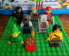 LEGO 71002 Series 11 - 7 Minifigure Lot Elf Scarecrow Robot Welder Rock Climber