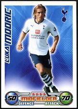 Luka mooric-Tottenham Hotspur-Match Attax 08/09 tarjeta de comercio (C415)