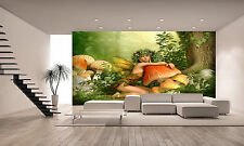 Beautiful Fairy Wall Mural Photo Wallpaper GIANT DECOR Paper Poster Free Paste