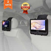 TFY Car Headrest Mount Holder for SYLVANIA SDVD9805 Portable DVD Player 7-10inch