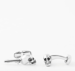 Paul Smith Cufflinks - BNWT Metallic Skull Skeleton Key Cufflinks RRP:£85.00