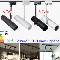 5W 7W 12W 2-Line LED Track Rail Ceiling Spot Light Downlight Spot Lamp Lighting