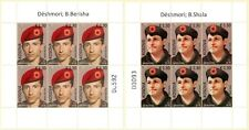 Kosovo Stamp 2018. Heroes - Bekim Berisha & Bedri Shala. Mini Sheet MNH