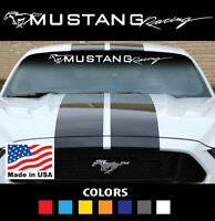 Fits Ford Mustang gt cobra shelby car performance windshield vinyl decal sticker