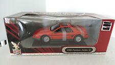 Road Signature: Pontiac Fiero Gt 1985 1:18  NIB