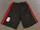 Boys Liverpool Football Club Adidas Away Shorts: Size Youth XL 13 / 14 Years XS