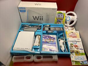 Nintendo Wii Sports Resort Pack, MarioKart, Wii steering wheel Etc Free Post