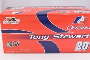 2006 Tony Stewart Old Spice Color Chrome Dirt Sprint Midget Diecast Car 1/24