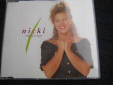 Maxi-CD  NICKI  Hals über Kopf  Sehr guter Zustand  3 Tracks