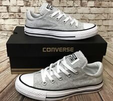 WOMENS CONVERSE ALL STAR MADISON 549700F GRAY WHITE BLACK SHOES SIZE 5